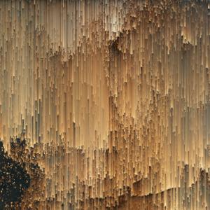 """Fototapeta na wymiar """"Złote piksele"""""""