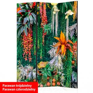 Parawan dekoracyjny CANVAS liście - 108726420