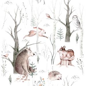 Fototapeta dla dzieci - Przyjaciele z lasu