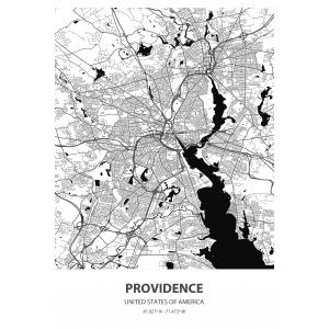 Fototapeta na wymiar mapa świata Providence